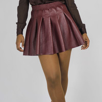 Lady Leather Skirt
