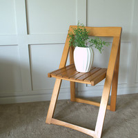 Modern Wood Folding Chairs. Mid Century Modern Wood Folding Chair,  Old Wood Dining Chair, Modern Danish Dining Chair
