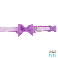 Martha Stewart Pets® Fresh Meadows Floral Adjustable Dog Collar | Collars | PetSmart