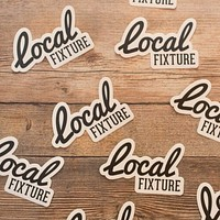 LOCAL FIXTURE STICKERS
