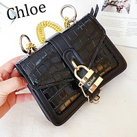 Chloe Trending Women Shopping Bag Leather Shoulder Bag Crossbody Satchel