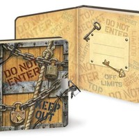 Top Secret Lock & Key Diary (5.5x6.25)