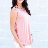 Basic Swing Tank {Rose}