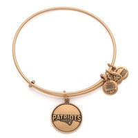 New England Patriots Logo   Alex and Ani Russian Gold