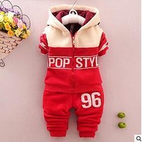 2016 spring autumn kids children baby boy set sport suits clothing set tracksuit toddler boy clothes cotton outfits for boy