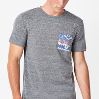 On The Byas Rocky Tribal Pocket T-Shirt at PacSun.com