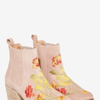 Intentionally Blank Sierra Suede Ankle Boot