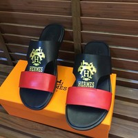Hermes Fashion Casual Slipper Shoes-1