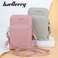 Large-capacity Zippered Mobile Phone Bag