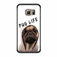 Funny Pug Life 21 Samsung Galaxy S6 Edge Plus Case