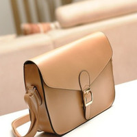 Envelope Leather Handbag