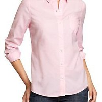 Women's Oxford Shirts   Old Navy