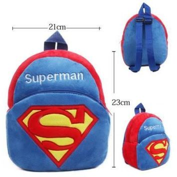 New-Baby-Toddler-Kids-Child-Mini-Cartoon-Animal-Backpack-Schoolbag-Shoulder-Bag (Color: Blue) [8081694215]