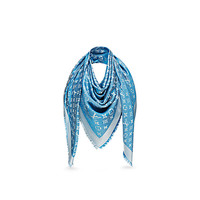 Products by Louis Vuitton: Monogram Denim Shawl