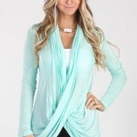 Criss-Cross Wrap Cardigan