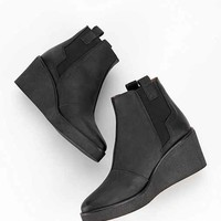Sixtyseven Wedge Platform Ankle Boot- Black