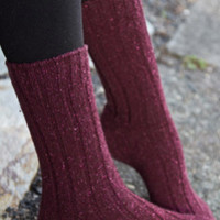 Sock Dreams - Erin Wool & Silk Socks - Unique Colorful Socks