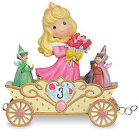 Disney ''Now You're Three, A Beauty You'll Always And Forever Be'' Third Birthday Aurora Figurine by Precious Moments | Disney Store