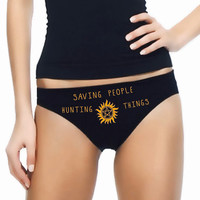 Supernatural Panties- Custom Underwear Panties Thongs Undies Lingerie