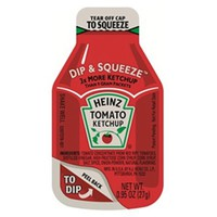 Heinz Dip & Squeeze Tomato Ketchup .95 oz Dippers - Pack of 100 - Walmart.com