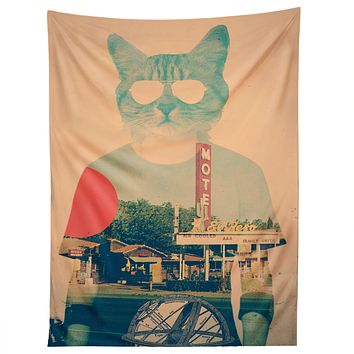 Ali Gulec Cool Cat Tapestry