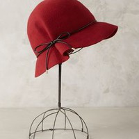 Cafe Cloche by Eugenia Kim Red Motif One Size Scarves