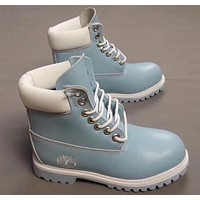 Timberland Fashion Winter Waterproof Boots Martin Leather Boots Shoes-6