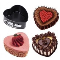 Non-stick Springform Heart Shape Cake Pan with Removable Bottom