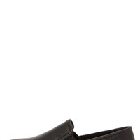 Steve Madden Vicktori Black Pointed Slip-On Sneakers