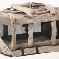 Sherpa The Original Deluxe Pet Carrier Sz: Large Gray