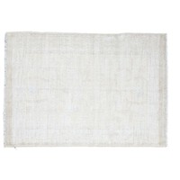 "Pre-owned Distressed Oushak Rug - 4'1"" X 6'"