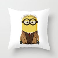 Doctor Who Throw Pillow by Henrik Norberg
