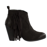 Everly Fringe Booties-FINAL SALE
