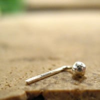 Nose Stud Solid Silver