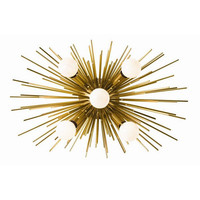 Arteriors Home Zanadoo Antique Brass Wall Sconce  - Arteriors 49996