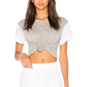 Wildfox Couture Boxy Tee in Heather