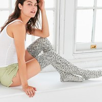 Out From Under Chevron Stitch Thigh High Sock