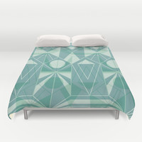 Nordic Combination 34 Duvet Cover by Mareike Böhmer Graphics