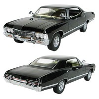 Supernatural Black 1967 Impala 1:18 Scale Die-Cast Vehicle - Greenlight Collectibles - Supernatural - Vehicles: Die-Cast at Entertainment Earth