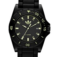 adidas Watch, Unisex Black Silicone Strap 45mm ADH2856