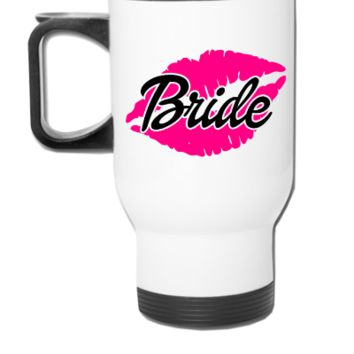 barbie bride - Travel Mug