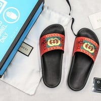 Gucci Slide Sandal With Blue Box Style #8 - Best Online Sale