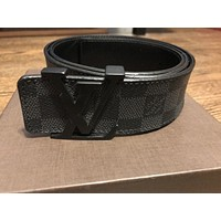 louis vuittons belt 90/36 Black Authentic Guaranteed