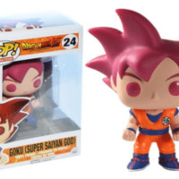 Dragon Ball Z Super Saiyan God Goku Pop! Vinyl