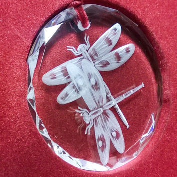 Roger's Series, Hand Engraved Crystal ornaments - Click to see all 14