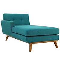 Engage Right-Arm Chaise, Teal -Modway