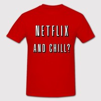 Netflix Red for Women and Men Shirt/ T-shirt