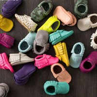 New Baby Moccasins Infant/Toddler Shoes