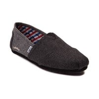 Mens TOMS Movember Classic Slip-On Casual Shoe