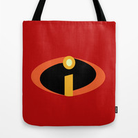 edna's new design of the hobo suit in red  Tote Bag by Studiomarshallarts